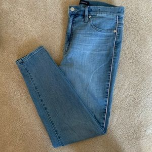J.Crew skinny jeans with Pink piping, 31